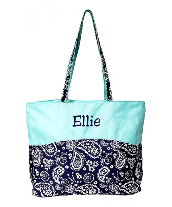 Custom Personalized Fashion Zipper Paisley