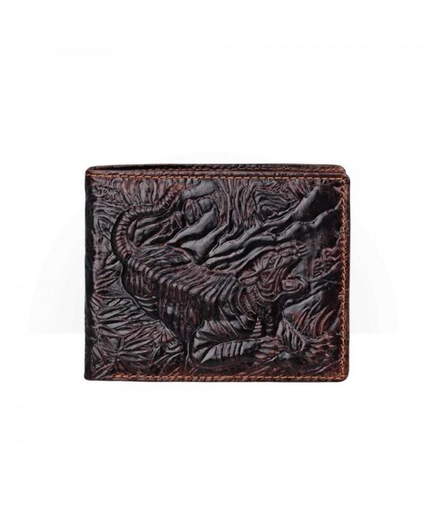 Genuine Leather Wallet Credit Pattern