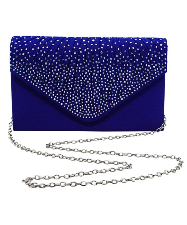 Bienvenu Ladies Evening Diamante Blue_style