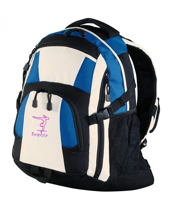 Personalized Gymnastics Urban Backpack Royal