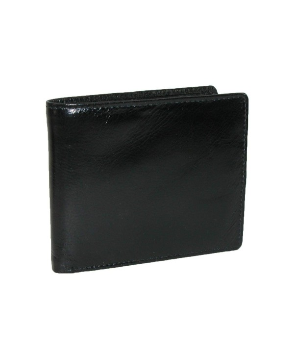 CTM Leather Bilfold Wallet Interior