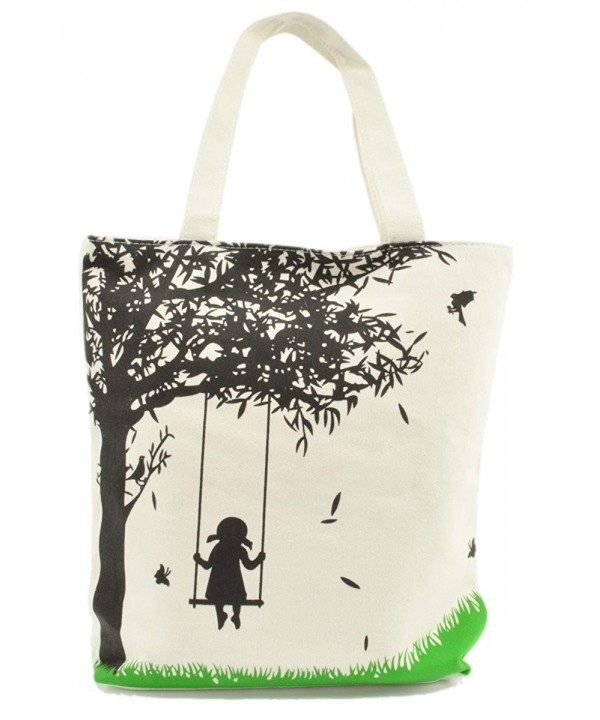 LSW Girl Swing Canvas Tote