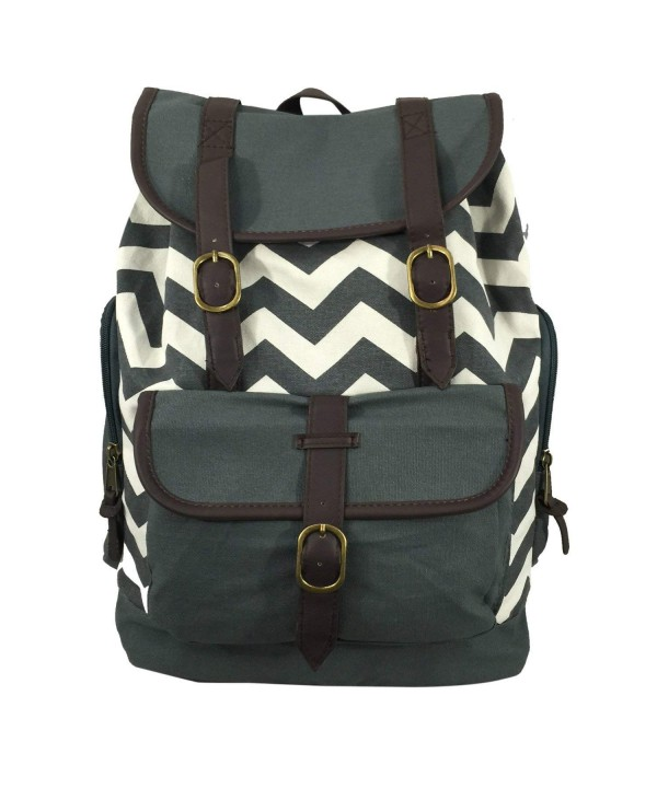 K Cliffs Canvas Backpack 15 inch Laptop