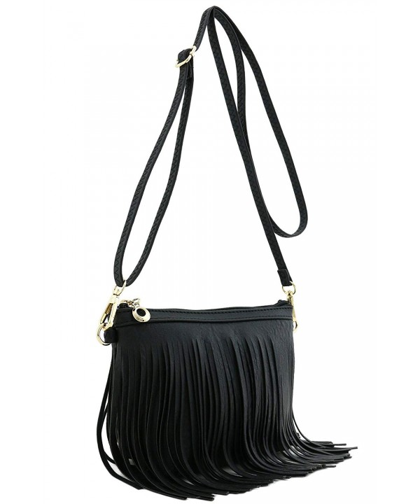 Small Fringe Crossbody Wrist Strap