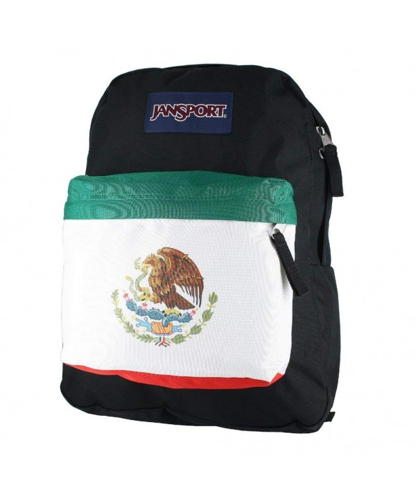 JanSport SuperBreak Backpack Mexican Flag