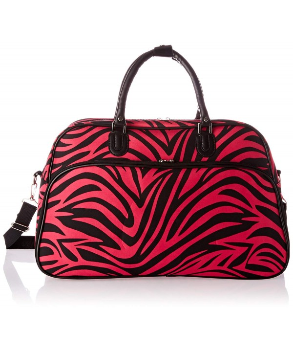 World Traveler 21 Inch Shoulder Fuchsia