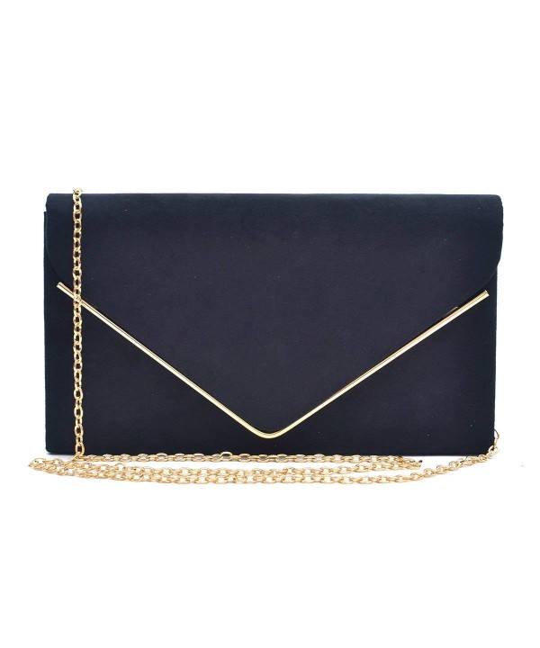 Dasein Ladies Velvet Evening Handbag