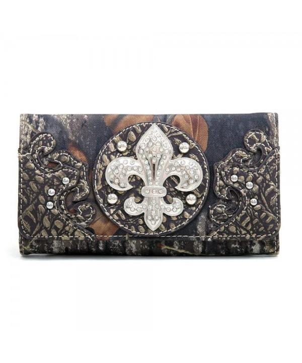 Mossy Oak Camouflage Tri Fold Wallet