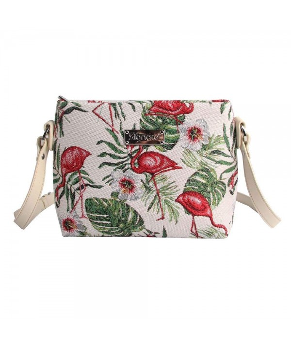 Flamingo Cross body Adjustable Signare XB02 FLAM