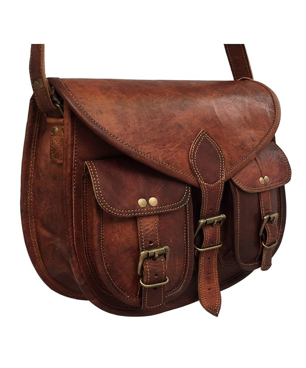 cuero Leather Shoulder Crossbody Satchel