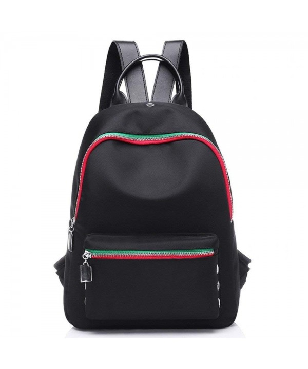 Fashion Backpack Shoulder Rucksack M019 Black2