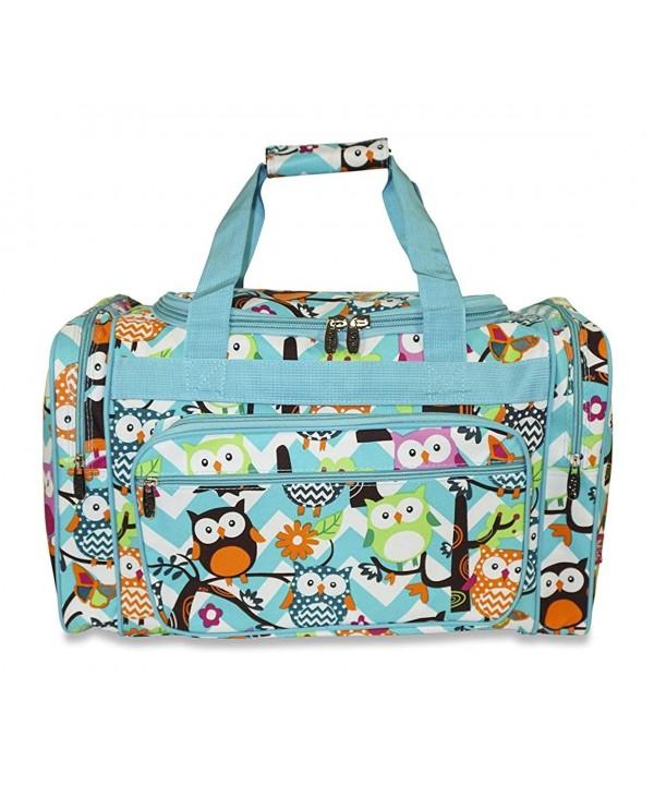 NGIL AQL420 AQ Owl Duffle Bag