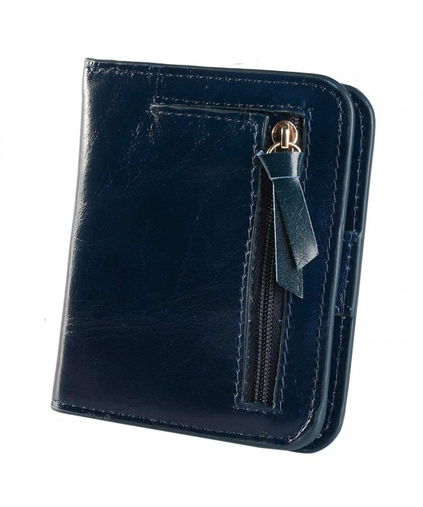 Ultra thin slimfold Compact Bi fold Leather