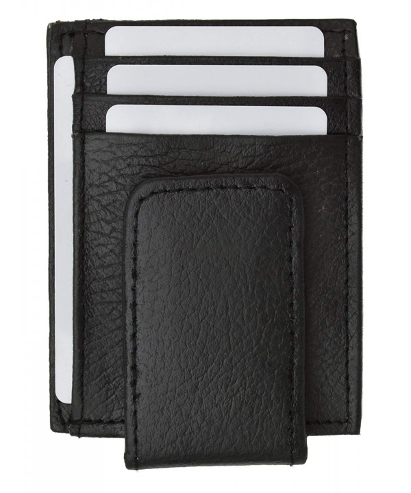 Genuine Leather pocket wallet magnet
