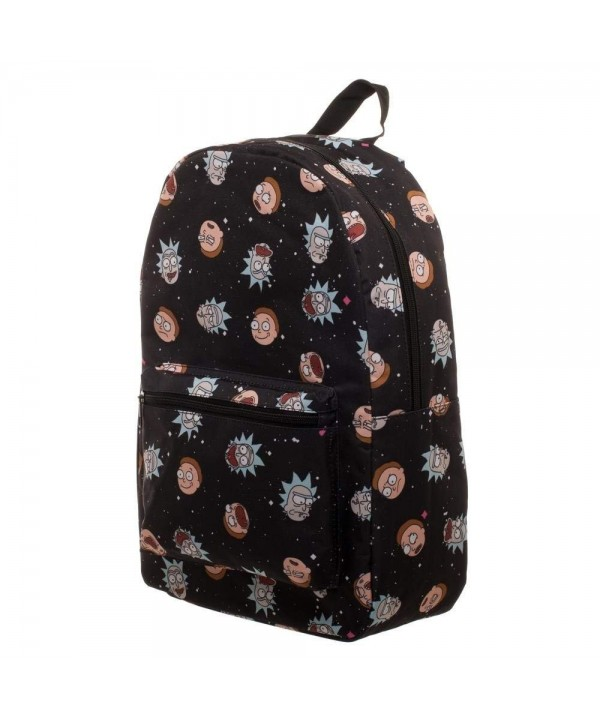 Morty Space Heads print Backpack