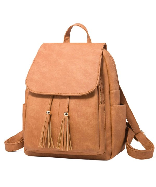 Fashion Shoulder Rucksack Leather Backpack