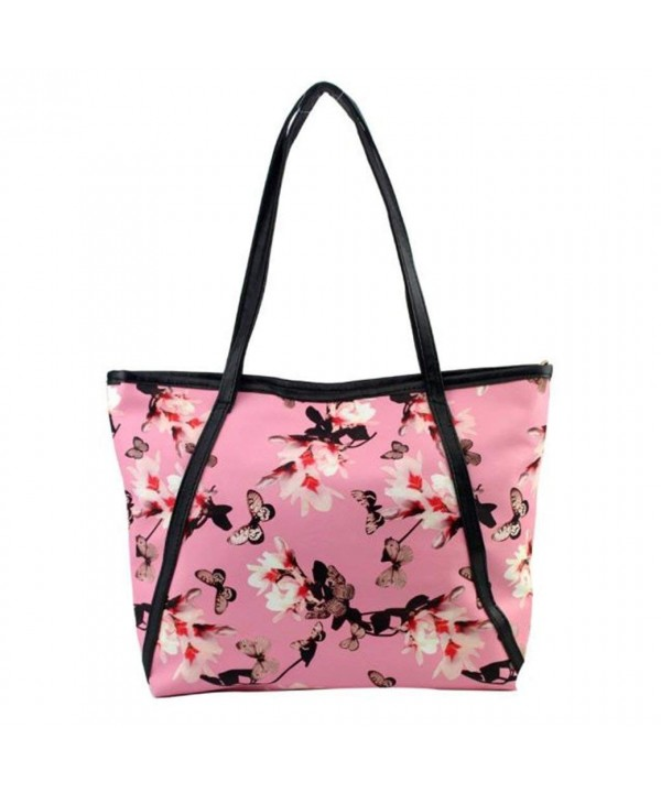Leather Shoulder Messenger Printing Handbag
