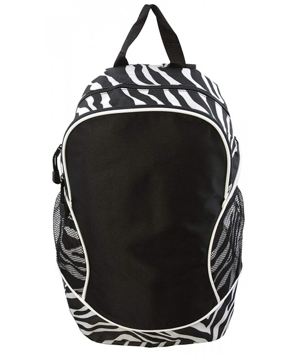 Poly Backpack with Piping Trim