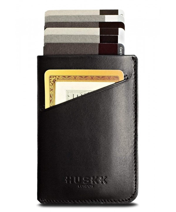 Slim RFID Wallets Men Leather