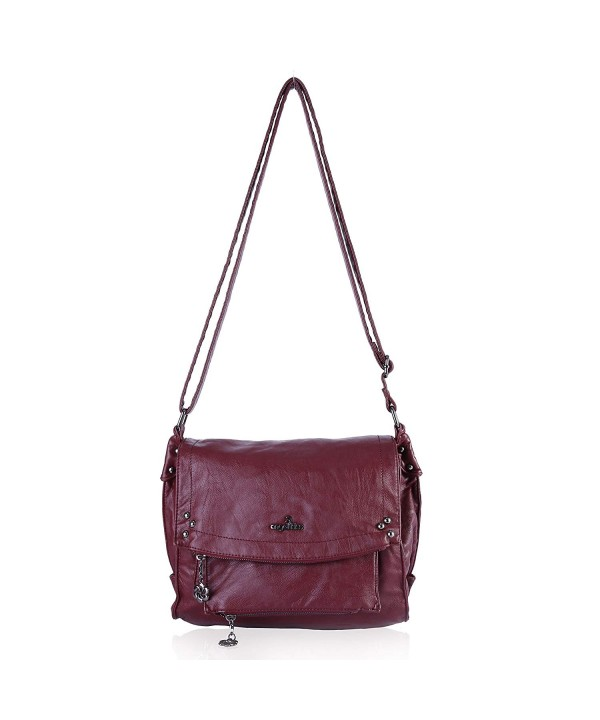 Angelkiss Satchel Handbag Crocodile Shoulder