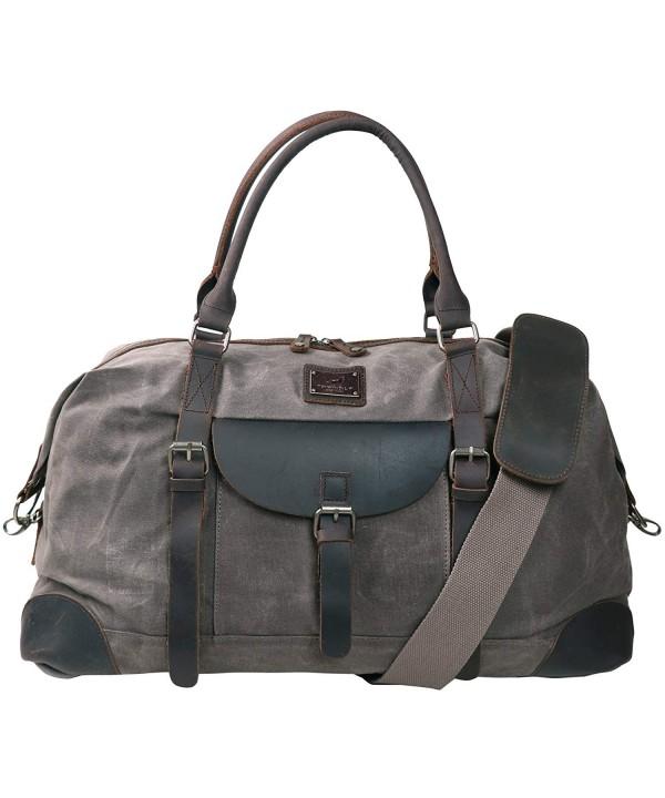 TOPWOLFS Holdall Luggage Weekender Waterproof