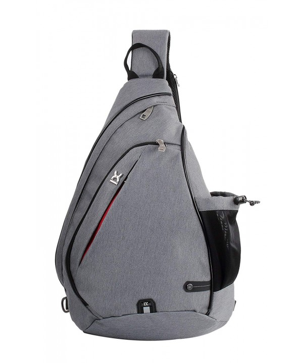 85b5f91401 Sling Bag Chest Shoulder Backpack Crossbody Daypack for Mens Womens ...