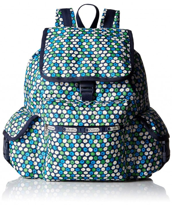 LeSportsac Voyager Back Travel Daisy
