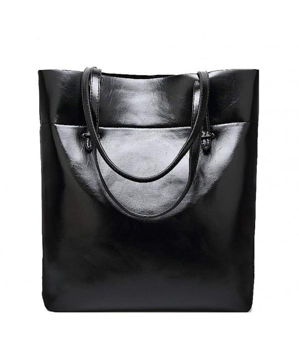 Donalworld Leather Handbags Satchel Shoulder
