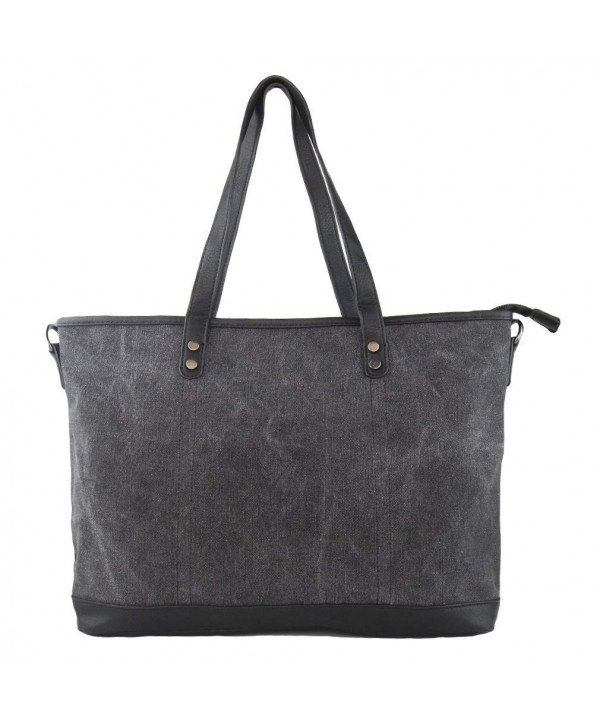 Imiflow Shoulder Satchel Shopper Charcoal