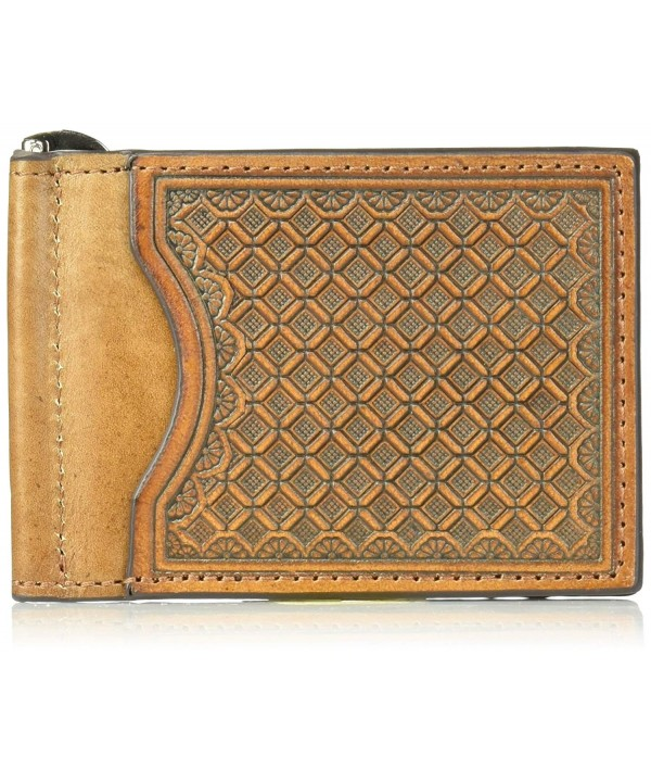 Nocona Mens Brown Basket Money