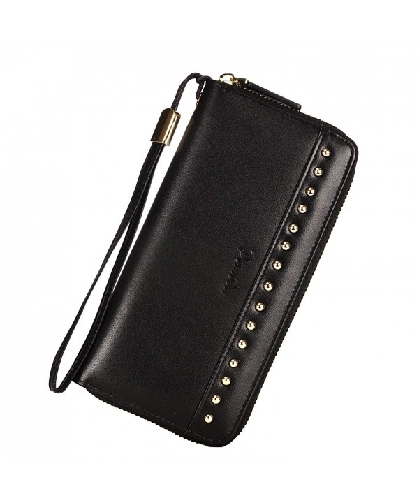Pomoda Wristlet Wallet Genuine Leather
