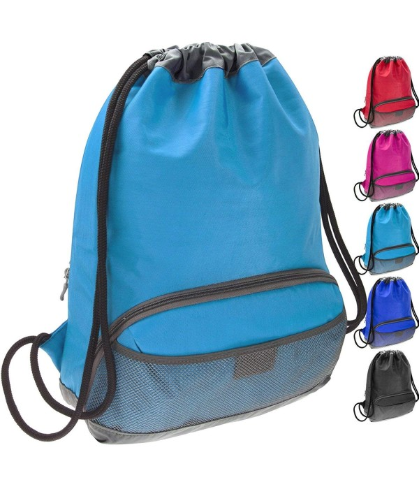 ButterFox Waterproof Drawstring Sackpack Light_Blue