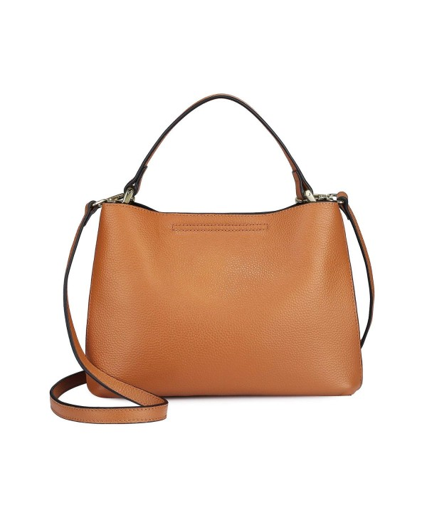 S ZONE Genuine Leather Crossbody Removable