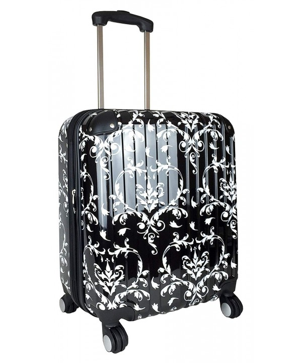 Carryon Rolling Spinner Lightweight Luggage