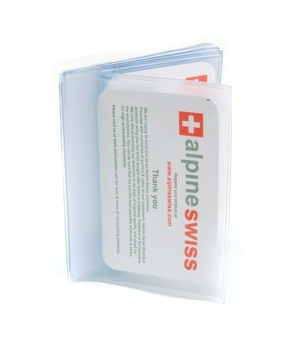 Plastic Wallet Picture Alpine Swiss