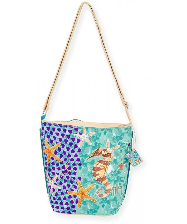 Guy Harvey Seahorse Crossbody Handbag