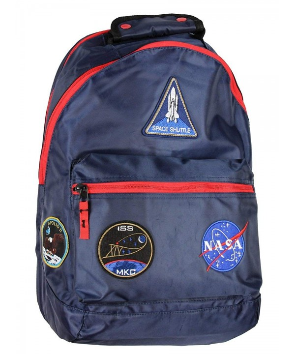 Buzz Aldrin Patches Laptop Backpack