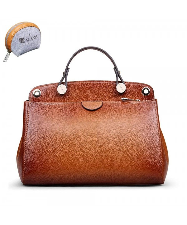 Myleas Vintage Genuine Leather Shoulder