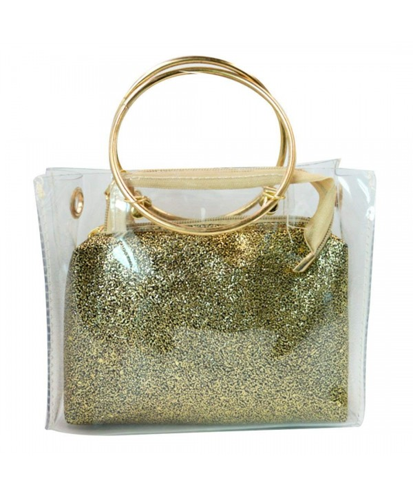 Mily Transparent Handle Handbag Shoulder