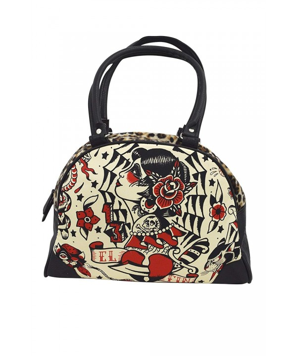 Liquor Brand Tattoo Bowling Handbag