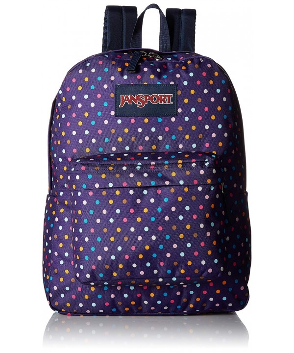 JanSport Unisex SuperBreak Purple Backpack