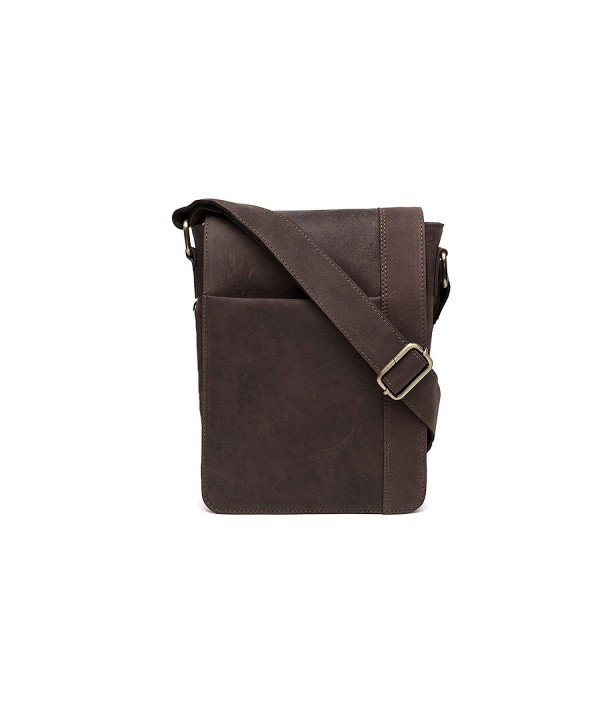 Inches Genuine Leather Shoulder Handmade