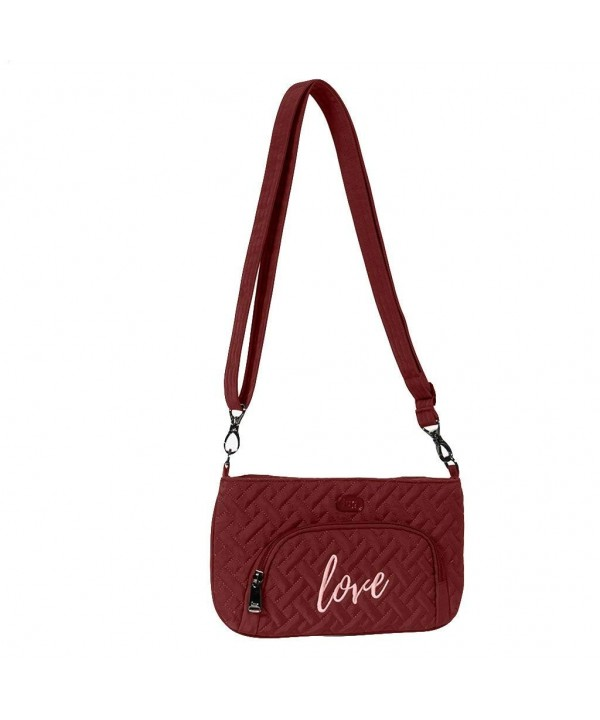 Lug Womens Flyer Cross Body Cranberry
