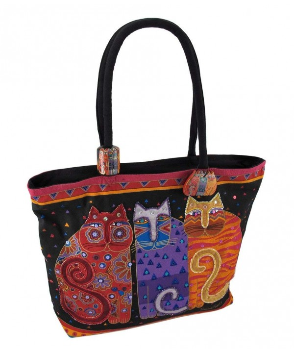 Laurel Burch Shoulder 15 Inch Friends