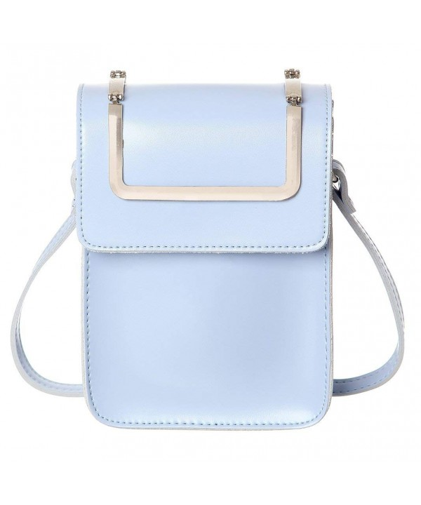 Phone Synthetic Leather Crossbody Wallet