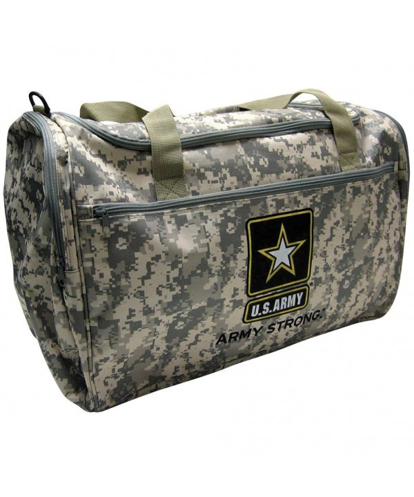 Military Official Licensed Duffle Luggage