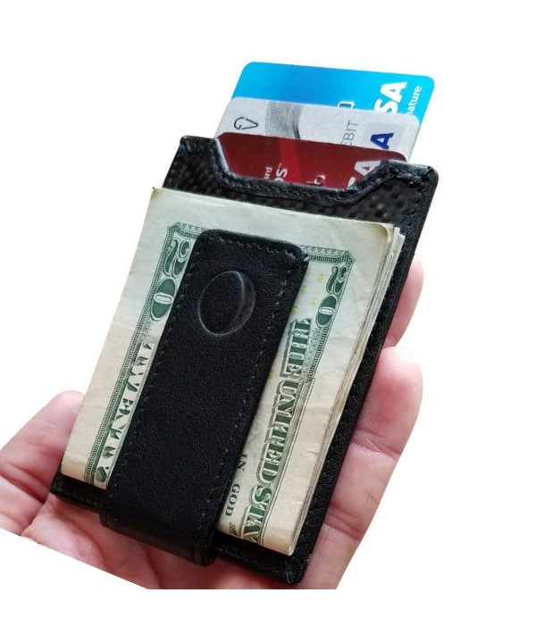 idclipz Carbon Fiber Money Wallet