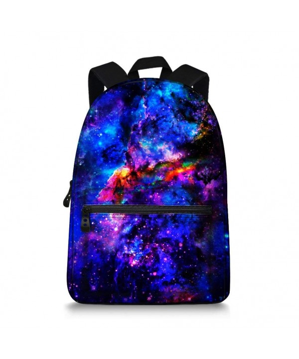 Galaxy Children Backpack Printing Students