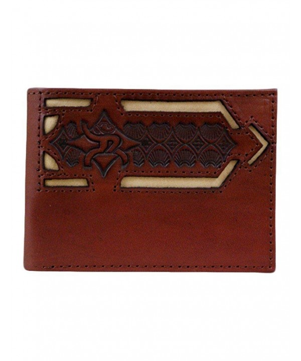 Roughy Chestnut Wallet Tooling 1702161W1