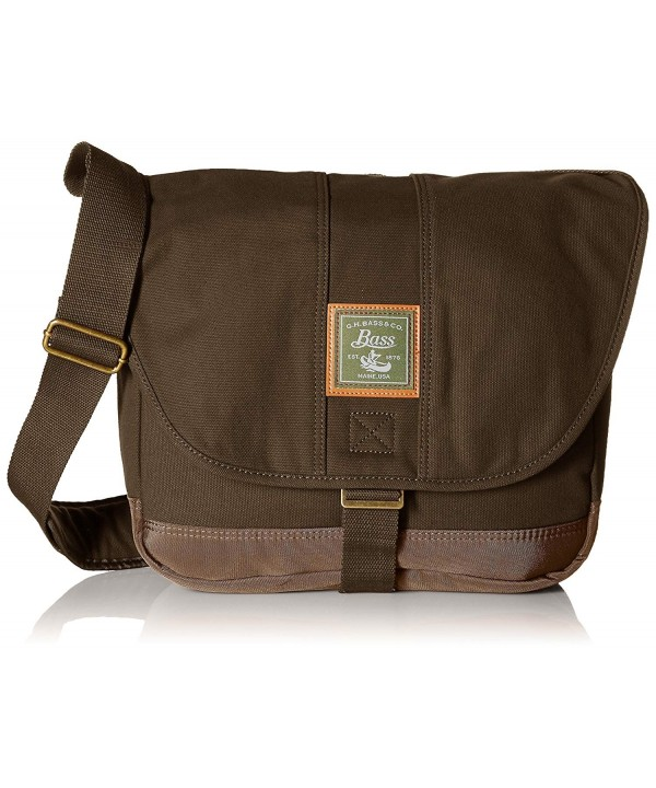 G H Bass Co Tamarack Messenger